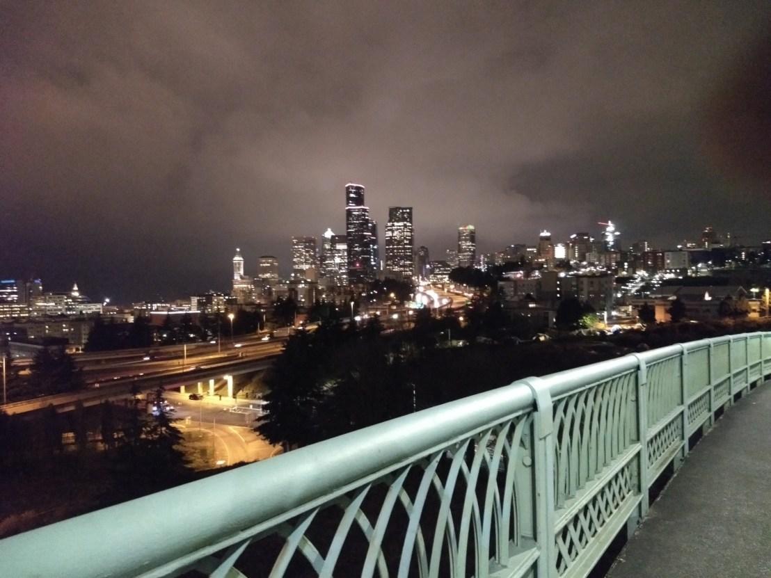 seattle skyline, jose rizal bridge